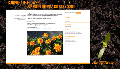 corporate flower blog