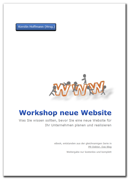 workshop neue website