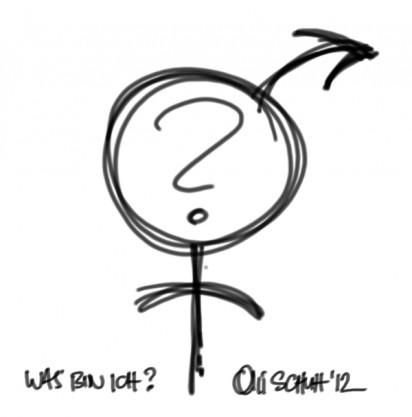 was bin ich? | scribble | oliver schuh